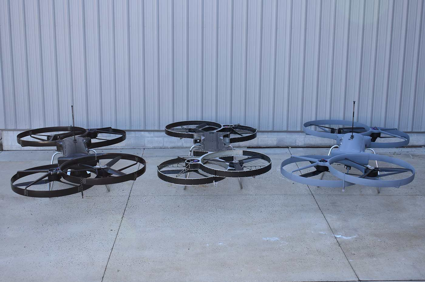Hoverbikes P2, P3a and P3b